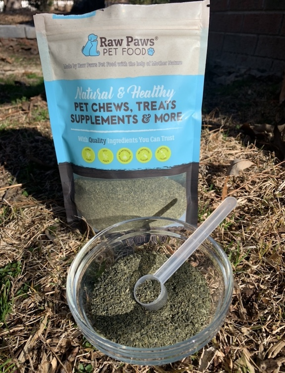 K9sOverCoffee.com | Kelp powder for dogs from Raw Paws Pet Food