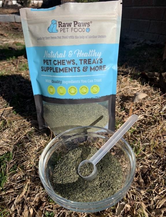 K9sOverCoffee.com |  Poudre de varech pour chiens de Raw Paws Pet Food