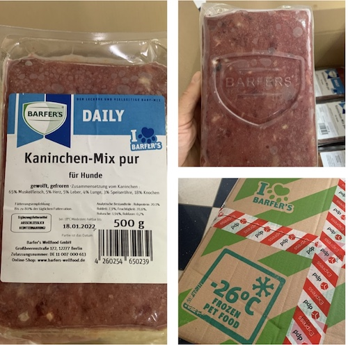 K9sOverCoffee.com |My first order from Barfer's Wellfood in Germany