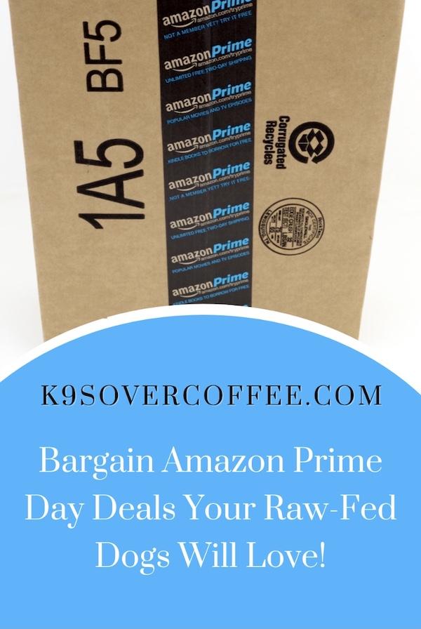K9sOverCoffee.com |  Négocier les offres Amazon Prime Day que vos chiens nourris à la crue vont adorer